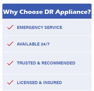 why choose dr appliance